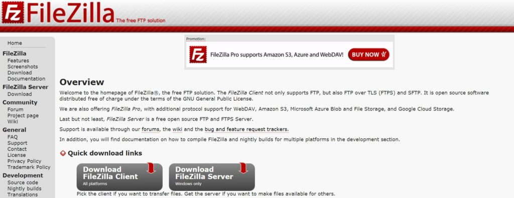 filezilla画像